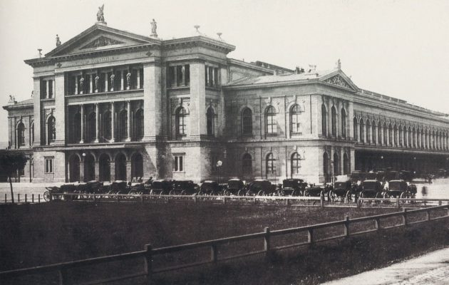 Wien Südbahnhof 1875 k