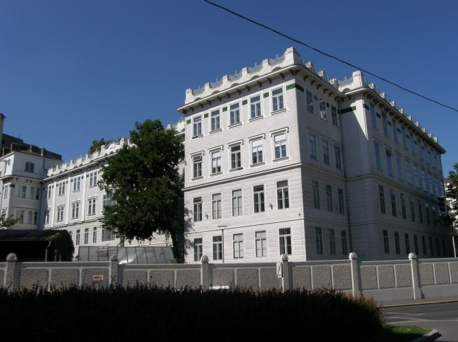 ehemalige AKH-Frauenkliniken, heute Meduni Wien, Spitalgasse 23